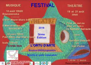 Festival à l'Ortu d'Arte