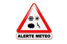 Message d'alerte - Vigilance meteorologique