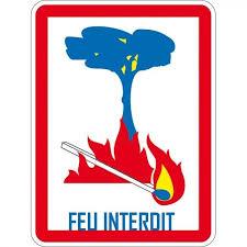 ARRETE D'INTERDICTION D'EMPLOI DU FEU