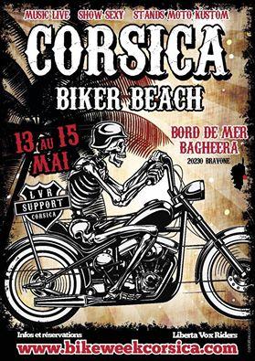 Corsica Biker Beach
